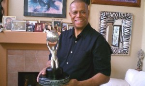 Tony Rose with the NAACP Image Award